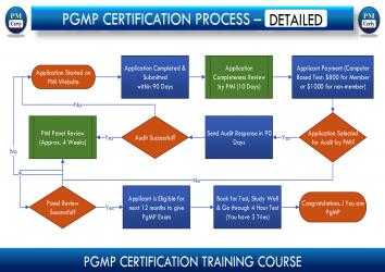 Program Management Professional (PgMP) Certification Process