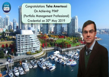 Congratulations Taha on Achieving PfMP..!