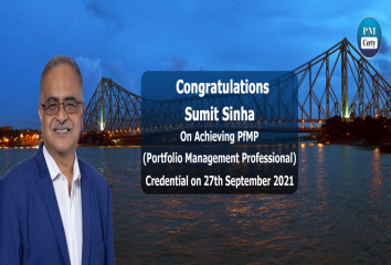 Congratulations Sumit on Achieving PfMP..!