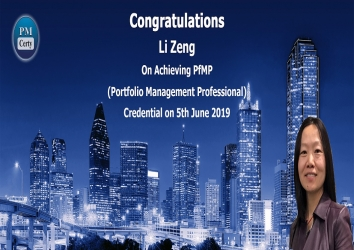 Congratulations Li On Achieving PfMP..!