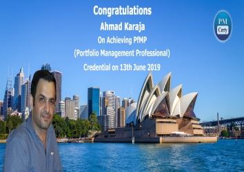 Congratulations Ahmad On Achieving PfMP..!