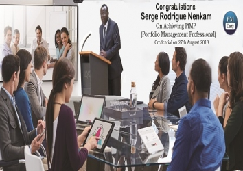 Congratulations Serge on Achieving PfMP..!