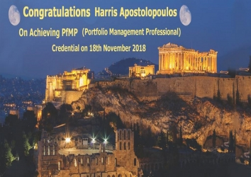 Congratulations Harris on Achieving PfMP..!