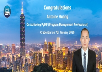 Congratulations Antoine on Achieving PgMP..!