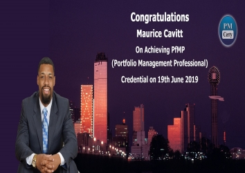 Congratulations Dr. Maurice On Achieving PfMP..!