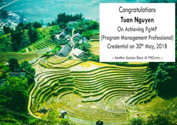 Congratulations Tuan on Achieving PgMP..!